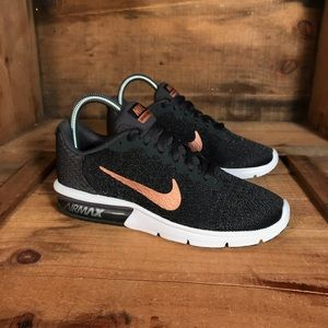 Nike Shoes - Nike Air Max Sequent Rose Gold NEW